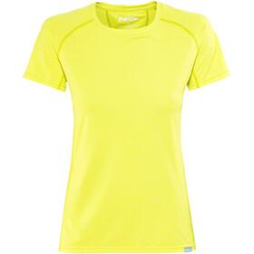 NRS H2Core Silkweight Short Sleeve Shirt Women Limeade Heather